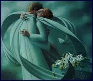 angeli abbracciati