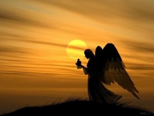 angelo e preghiera