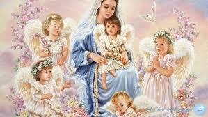 maria e gli angeli